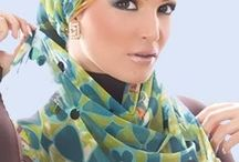 Hijab styles / Head scarfs and dresses