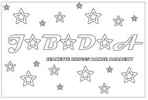 COLOUR IN / JBDA has designed some fun colouring in sheets for our little dancers.