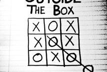 Boxes: outside