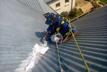 Waterproofing / We undertake waterproofing jobs - tiles, corrugated iron