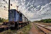 Yanov - abandoned train station in Chernobyl