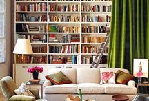 Book Worthy Rooms / A Plethora of Book-Filled Rooms that make me want to curl up with my favorite reads. / by Tobi Fairley