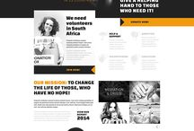 American Youthworks / Branding, typography, infographics and photo treatments