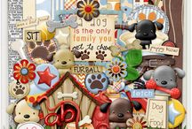 Doggone Cute / http://scraporchard.com/market/Doggone-Cute-Digital-Scrapbook-Kit.html