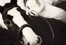 Child and horse photography. / Beautiful photography with children and horses. See more at www.hannahyoungerphotography.com
