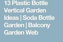 soda bottle gardens