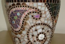 mozaik saksı