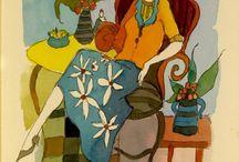 1) Figurative - Tarkay, Bellet, Le Kinf, Maimon / Inspiration