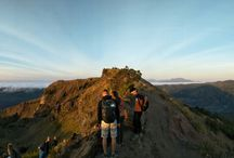 Mount Batur Sunrise Bali Trekking Guide / Mount Batur is an active volcano located in Batur village, Kintamani Bali. From years 1.804 until years 2.000 this volcano has been erupt for 26 time and the biggest eruption is on years 1.963. According to Geologists, before the big erruption on 29.300 years ago mount Batur is a huge mountain with elevation about four thousand meters.  Mount Batur have a medium difficulty of hiking level and offer beauty sunrise from the peak completely with amazing landscape in surrounding area, that why a lot