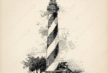 Tenger, kagyló, világítótorony