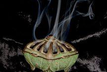 Füstölők  ( Incense burner)