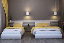 Hotel rooms by Delli Textile