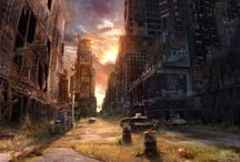 Post apocalyptic backgrounds / by Audrey Watts