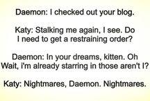 Daemon & Katy