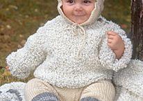 Baby/barn strikke & hekleoppskrifter