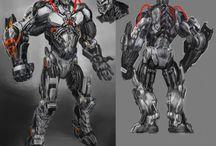 Cyborgs and robots