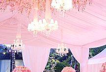 Pink Wedding / #Pink #Wedding