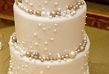 white diamond and pearl party ideas