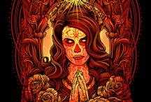 El Dia de Los Muertos / by Harley Quinn