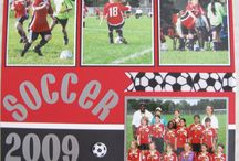 Scrapbook Ideas - Sports / by Diane Jones