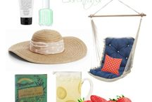 Summer Essentials / My summer must have items