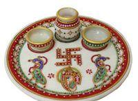 Puja Thali for Karwachuath