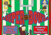 Super Bowl / by Vicki Anderson