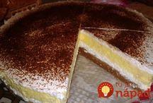 koláče, torty