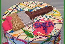 M bday cake