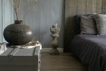 Wand slaapkamer