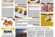 Coverage of Cleopatras in DNA Newspaper Jaipur