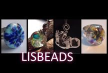 Glass from my hand <3 https://www.facebook.com/pages/Lisbeads/416852331695878?ref=hl / LISBEADS glassart , jewelry
