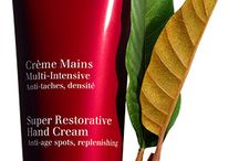 Love The Age You Are / Introducing our new Super Restorative Age Control Hand Cream and Décolleté and Neck Concentrate.