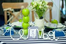 Wedding in a marine style / Decor by Irina Imaeva Wedding in a marine style Nautical wedding