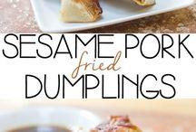 FOOD : dumplings