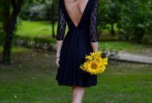 Backless dress / Vestidos espalda abierta