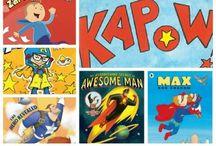 Schoolwide Super Hero theme
