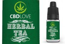 CBD Herbal / Baza VG/PG z ekstraktem CBD 200 mg, opakowanie 10 ml. Doskonały smak Herbal Tea ( herbata ziołowa ).