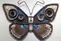 recycled art  inspiration