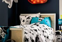 Kids' bedroom moodboard / bright, fun, colourful, stimulating, positive, lively