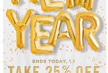 % HAPPY NEW YEAR %