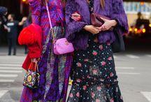 fashion week on street