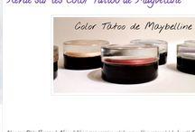 Mon Blog Beauté / Mon blog beauté, mes articles, les swatches, les tutoriels make up, les DIY ...etc <3