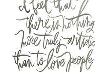 Para inspirar / citações, frases, textos, letterings