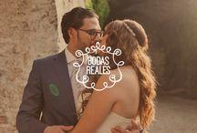 Bodas reales / Te presento bodas de novias que como tu pasaron por el proceso de la organización de la boda y que llegaron su gran día, con el objetivo de darte ideas e inspirarte para cuando llegue el momento de caminar al altar.