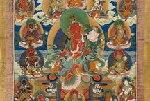 Tara / Thangka depections of the tantric godess Tara