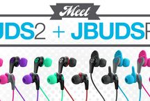 Meet The JBuds 2 & JBuds Pro / We've watched for 10 years. This brand. That brand. This name. That one. They've all failed to produce a premium earbud that punches well above its weight class.  JLab spent that decade innovating. Our lab broke every rule. Tore up the box. Then flipped it out the damn building. That's to say, our goal was to bring you sub $10 earbuds — no matter the investment — that look, feel and sound like gear 10 times the cost.  Enough is enough. Time to deliver where others failed. / by JLab Audio