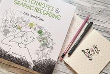 Books sketchnotes &GR