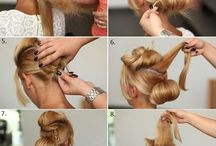 Hair up / Weddings & formal occasions