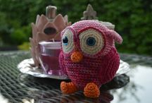 Home-made crochet projects